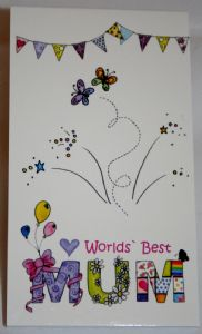 Small Pretty Notepads with Mum, Sister, Daughter,Nan, Grand Daughter and Friend.